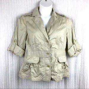 LOFT Ann Taylor Khaki Jacket